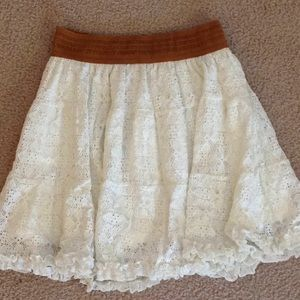 I trade! Beautiful lace POOF GIRL skirt